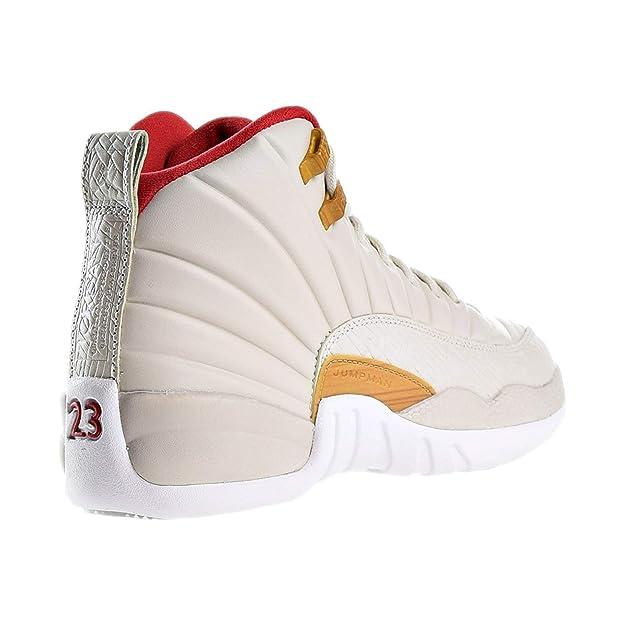 new style 50f71 f6f9e Amazon.com   Jordan Air 12 Retro CNY GG - 881428 142   Basketball