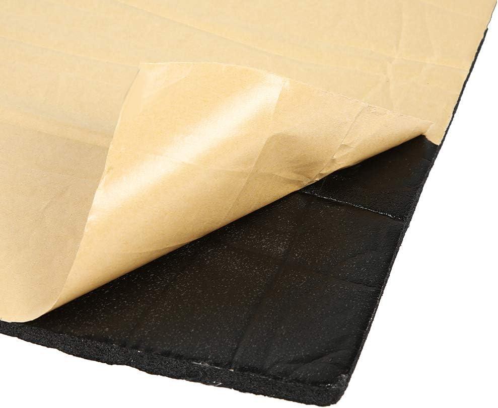 Fydun Automotive Insulation Mat 2440inch 10mm Car Sound Proofing Foam Deadening Vehicle Heat Insulation Mat Waterproof Foam Cotton Sound Insulation Mat Aluminium Foil