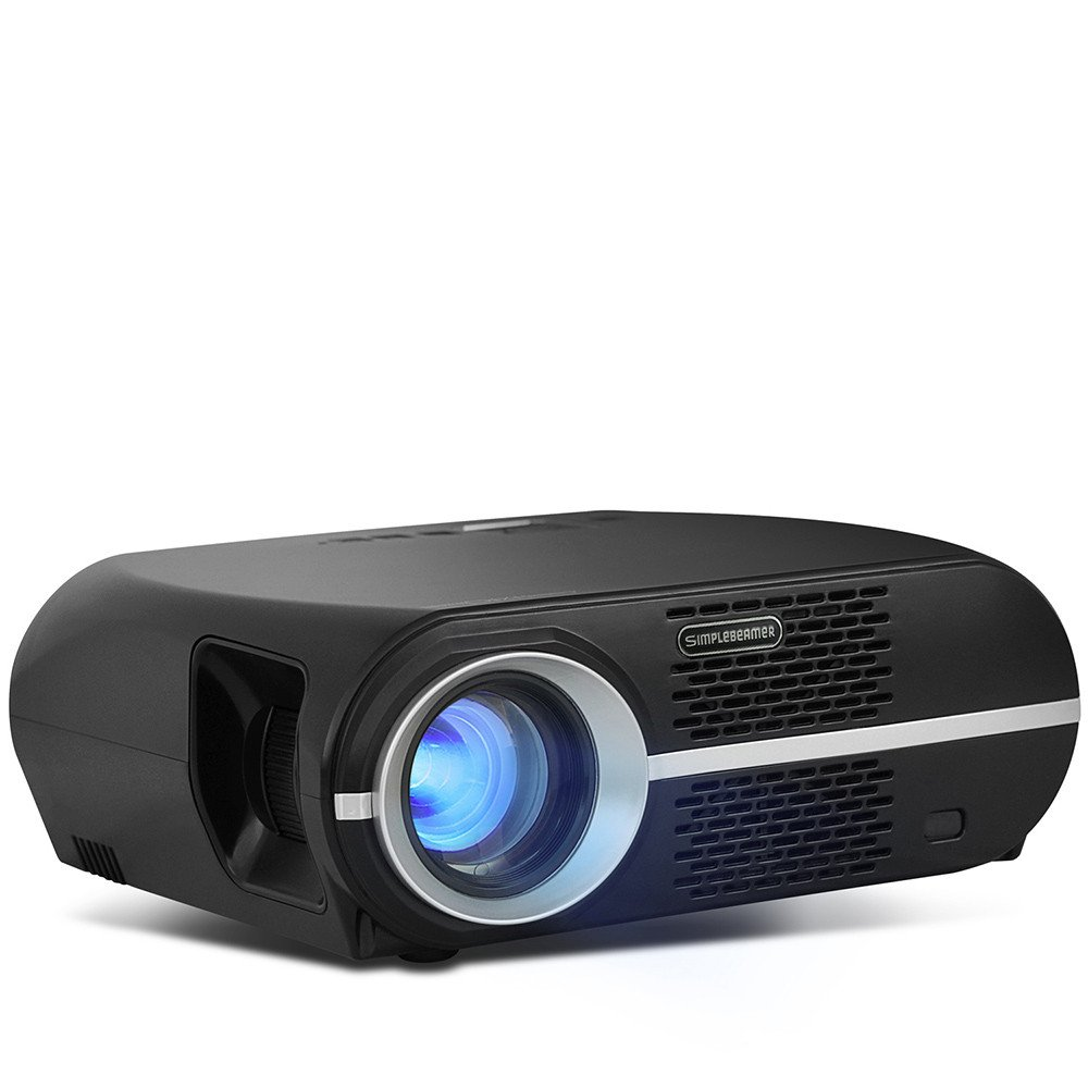 So De Buts GP100 Mini Proyector, 3200 Lumens, Full 1080p Vídeo LCD ...
