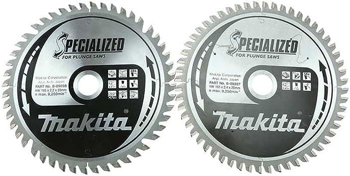 Makita b-49301 hojas para sierra de incisión para SP6000 Pack de 2 ...