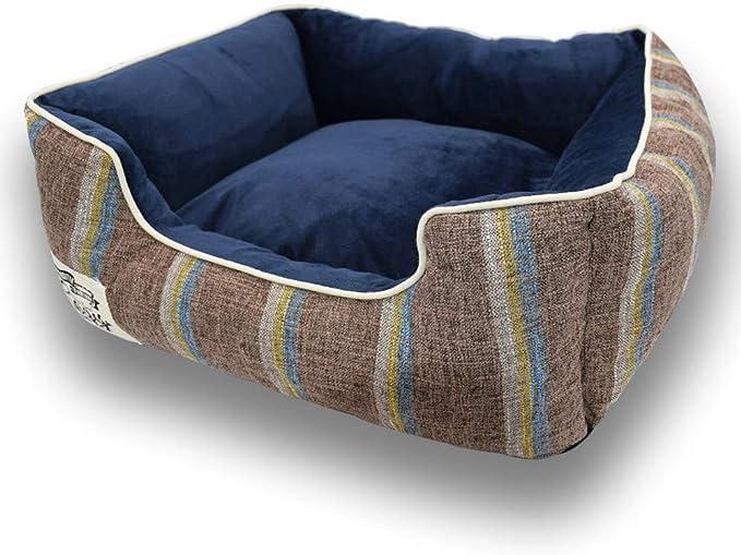 Apetian 犬用ベッド小型犬ベッド 猫 ペットマットペット クッションペットソファー寝床柔軟快適 3サイズ (M 未満5kg)