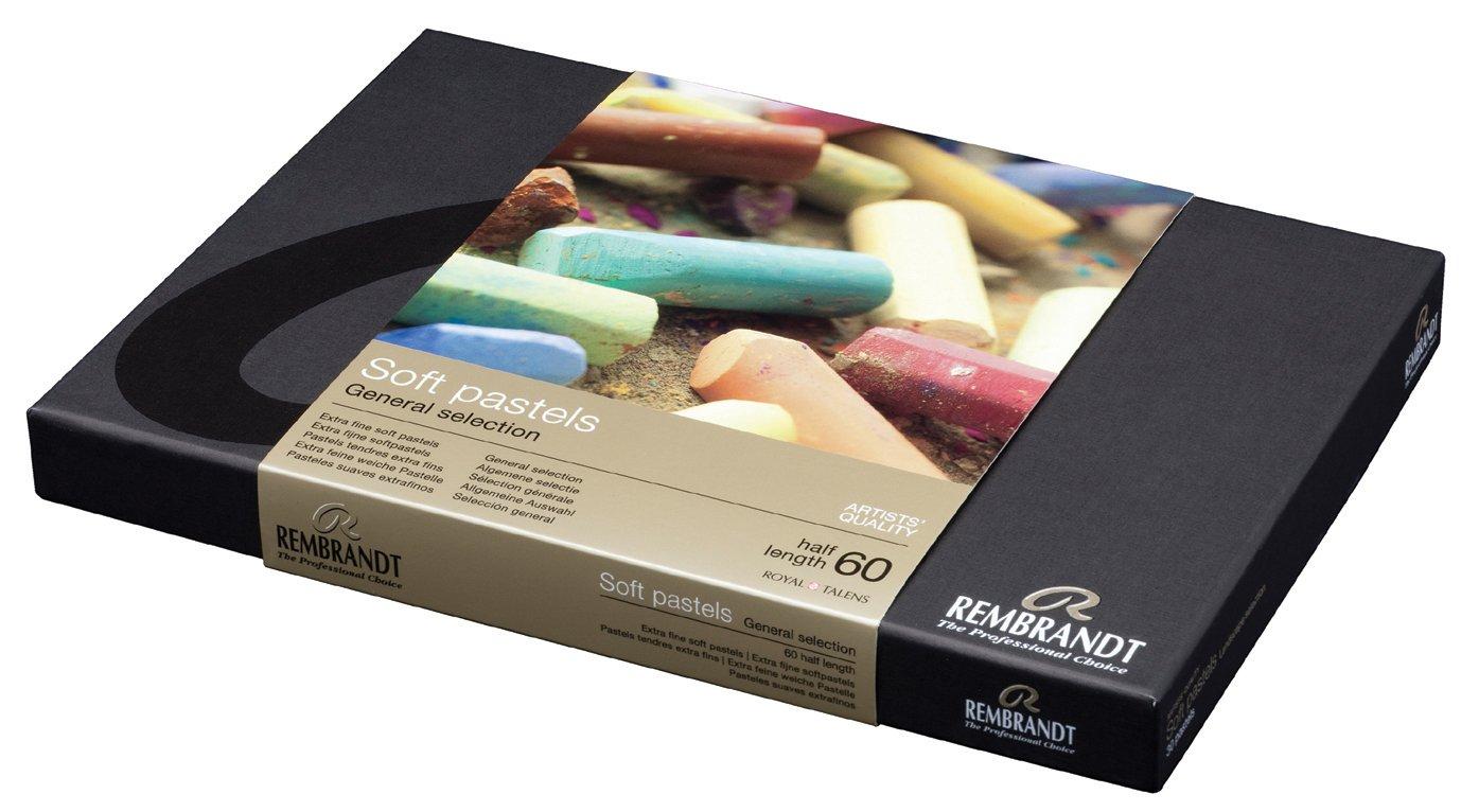 Rembrandt soft pastel half stick 60 color set (japan import) 100515684