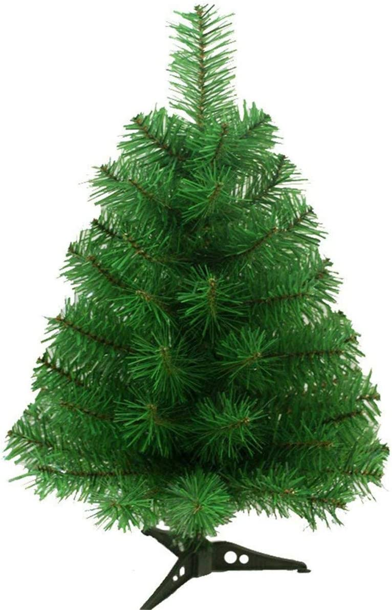 NEW 2FT//60CM CHRISTMAS TREE STAND TABLE TOP INDOOR FESTIVE ARTIFICIAL PINE GREEN