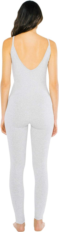 American Apparel Womens Cotton Spandex Sleeveless Unitard