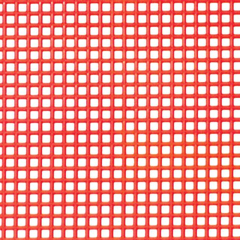 Better Crafts PLASTIC CANVAS XMAS RED (12 pack) (033900-100) by Better crafts