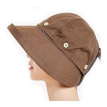 sentirsi a proprio agio catturare brillantezza del colore Tuziii Cappello da Sole da Donna, può Essere Utilizzato con ...