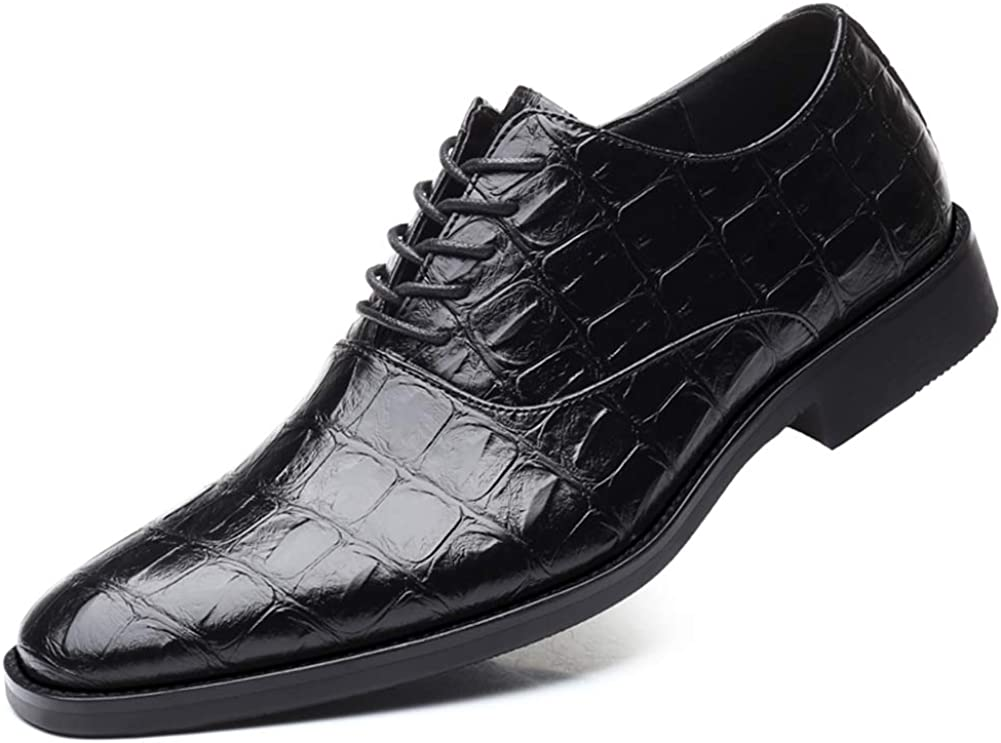 Amazon.com | Black Lace-Up Loafers for