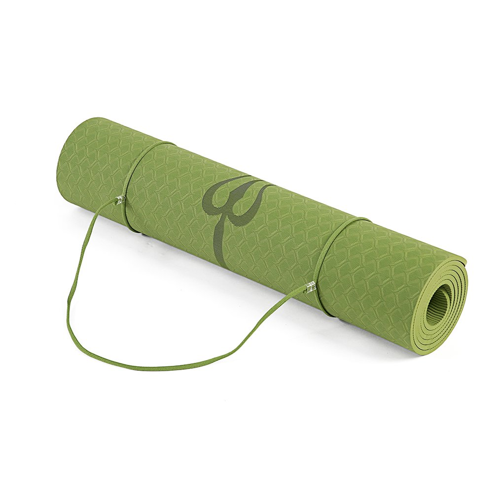 Eco Friendly Non Slip Yoga Mat, Body Alignment System, SGS Certified TPE Material Body Alignment System