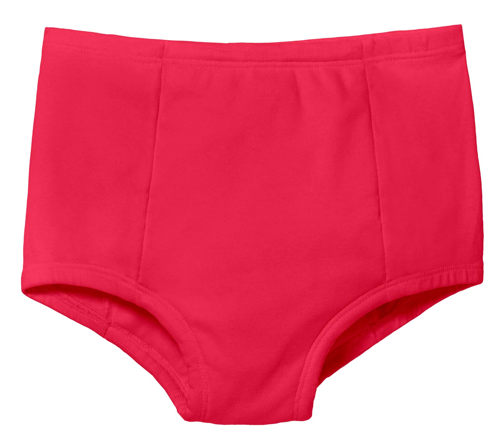 City Threads Boys & Girls Training Underwear Pants Panties Underpants for Potty Training Kids Toddlers - All Cotton for Sensitive Skins SPD Sensory Friendly Clothing, Candy Apple, 2T