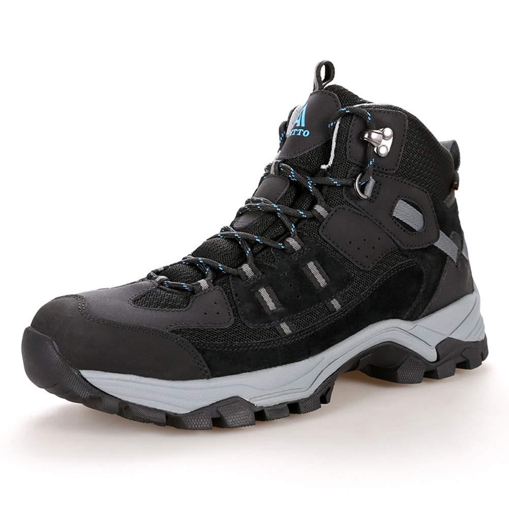 Ynkliga skor utan glidmedel Sports gående skor skor skor Cross -Country springaning skor Andningsbara Lätta utomhus -skor svart -43  80% rabatt