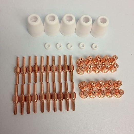 LG40 Plasma Electrodes Tips Nozzle PT31 Consumables Fit CUT40 CUT50 CT312 235pcs
