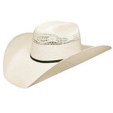 e656f79d3032f2 Resistol Ringer - (7X) Bangora Straw Cowboy Hat at Amazon Men's ...