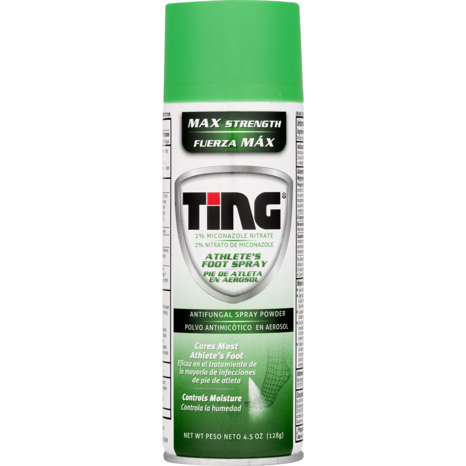 Ting Max Strength Athlete's Foot Spray, 4.5 Ounces each (Value Pack of 7) by Ting Ting