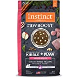 Instinct Raw Boost Indoor Health Grain Free Recipe with Real Rabbit Natural Dry Cat Food by Nature's Variety, 4.5 lb…