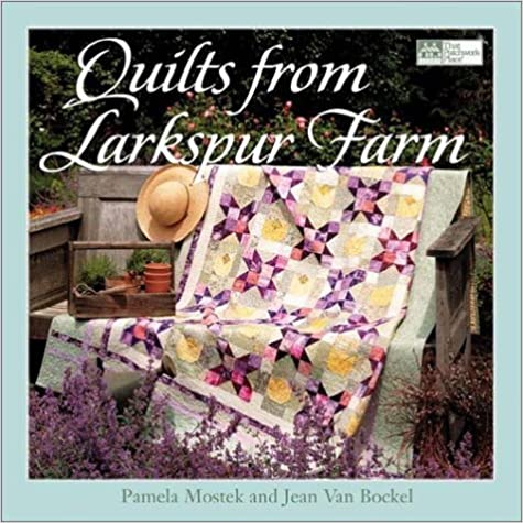 Book Quilts from Larkspur Farm by Pamela Mostek (2002-03-04)
