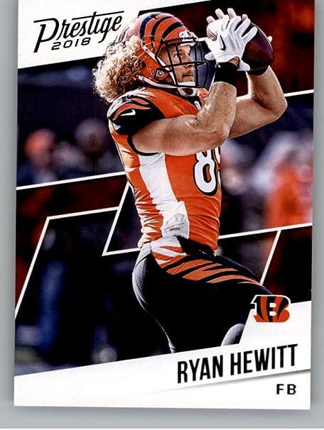 Amazon.com: 2018 Prestige NFL #103 Ryan Hewitt Cincinnati Bengals ...