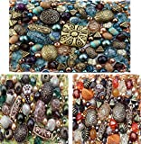 (US) 3 x packs of Acrylic Jewelry Making Mixed Beads