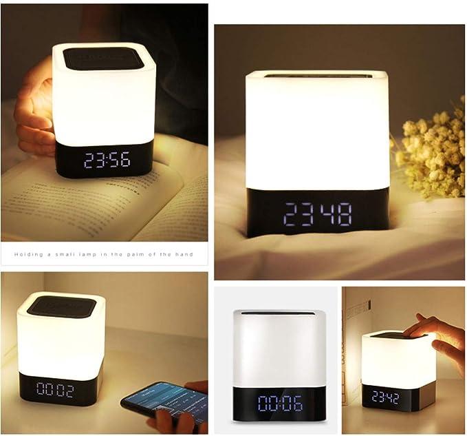 2X Kreative Schöne Tragbar Wireless Led Nachtlicht Tischlampe USB WiederaufZ1N6