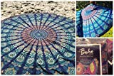 The Boho Street Branded Cotton Mandala Roundies,Beach Throw, Indian Mandala Tapestry, Yoga Mat, Picnic Mat, Table throw, Table cover