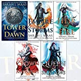 download ebook throne of glass series sarah j. maas collection 5 books set (tower of dawn, empire of storms, heir of fire, crown of midnight, queen of shadows) pdf epub