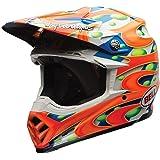 Bell Moto-9 Flex Off Road Motorcycle Helmet (MC Replica Orange , Large)