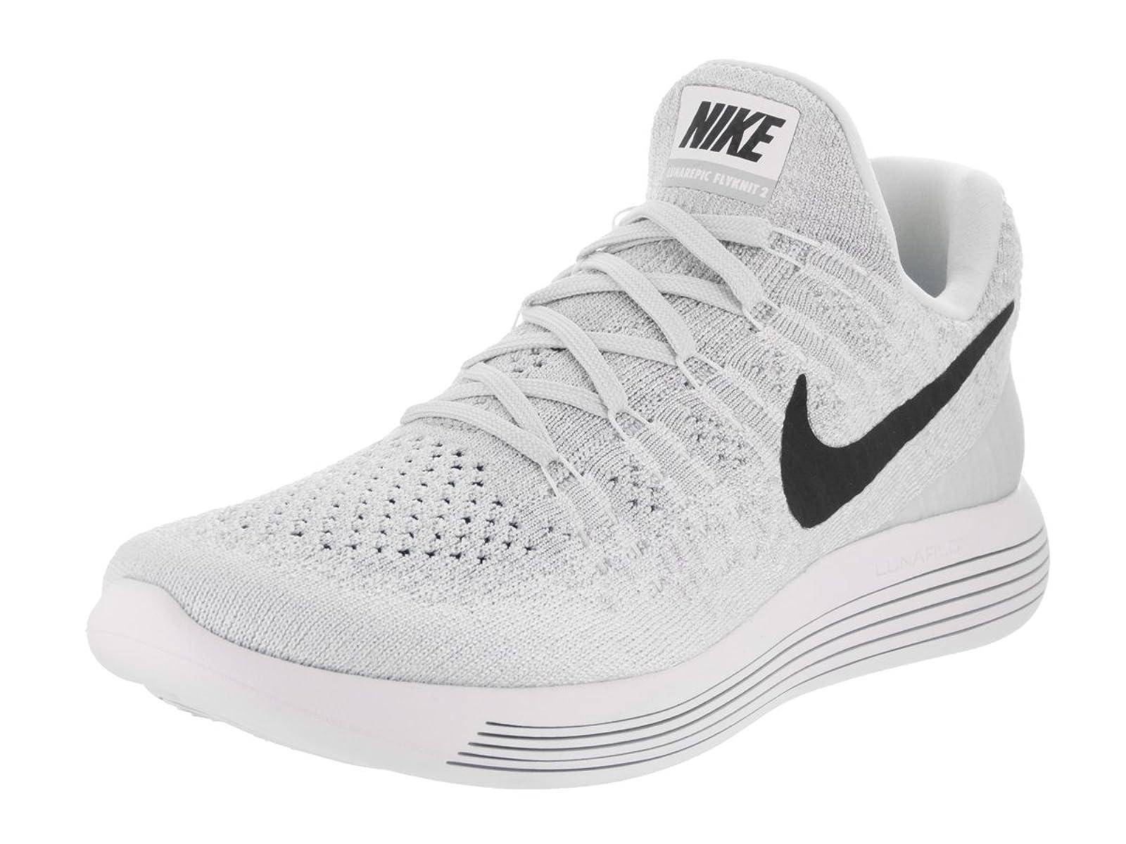 Nike Womens Lunarepic Low Flyknit 2 White/ Variation - 1