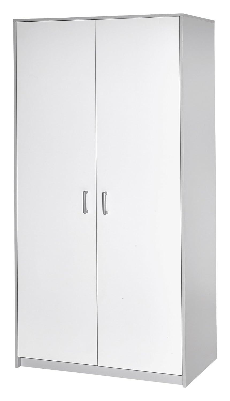 Schardt 06 493 46 00 Kleiderschrank mit 2 Türen Classic Grey