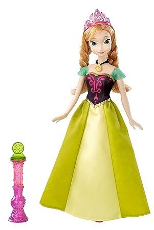 Anna Y9963 Poupée Disney Enchantée Robe Princesses DIE92WH