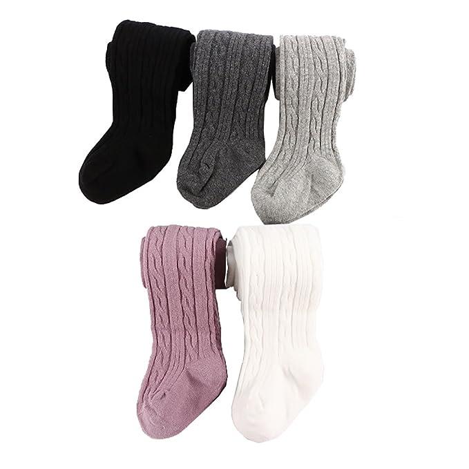 Amazon.com: Buscando Bebé Niñas Lindo Cable Knit Algodón ...