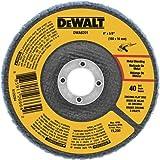 DEWALT DWA8201 40 Grit Zirconia T29 Flap Disc, 4-Inch X 5/8-Inch