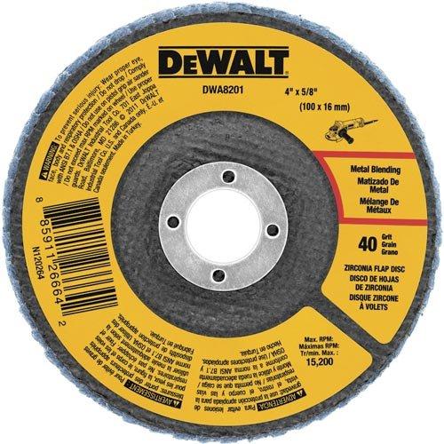 DEWALT DWA8201 Zirconia 4 Inch 8 Inch