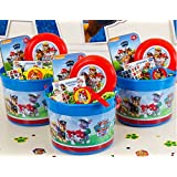 """Nickelodeon Paw Patrol """"Ruff Ruff Rescue"""" Children's Party Favors/Treat Pails Gift Set!"""
