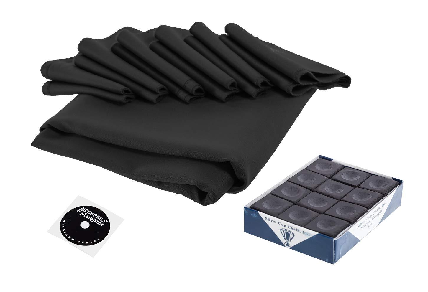 Spencer Marston 8 ft Billiards Table Simonis 860 Cloth Set