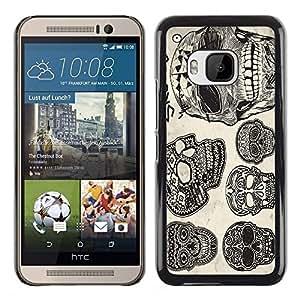 Dragon Case - FOR HTC One M9 - they leave us bleeding - Caja protectora de pl??stico duro de la cubierta Dise?¡Ào Slim Fit