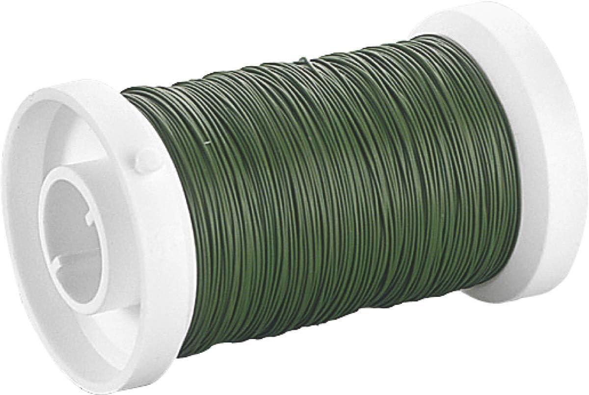Efco 1 mm x 10 m Aluminium Anodised Round Wire Light Green
