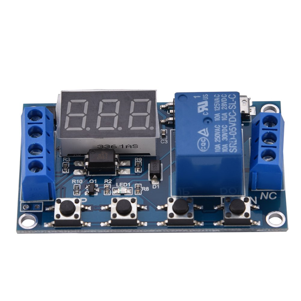 DC 6V~30V Multifunction Trigger Delay Time Module Switch Control Relay on