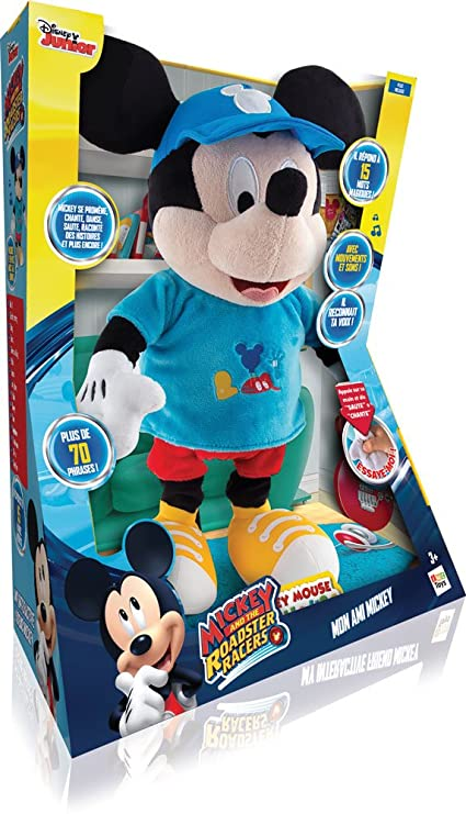 Amazon.com: Mickey Mouse Club House 181830 My Interactive Friend Toy by Mickey Mouse: Toys & Games