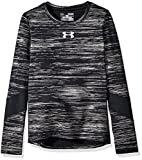 Under Armour Girls' ColdGear Long Sleeve, Black (002), Youth X-Small