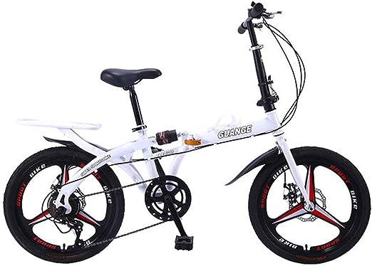JH Bicicletas Plegables, De 20 Pulgadas De Montaña Bicicleta ...