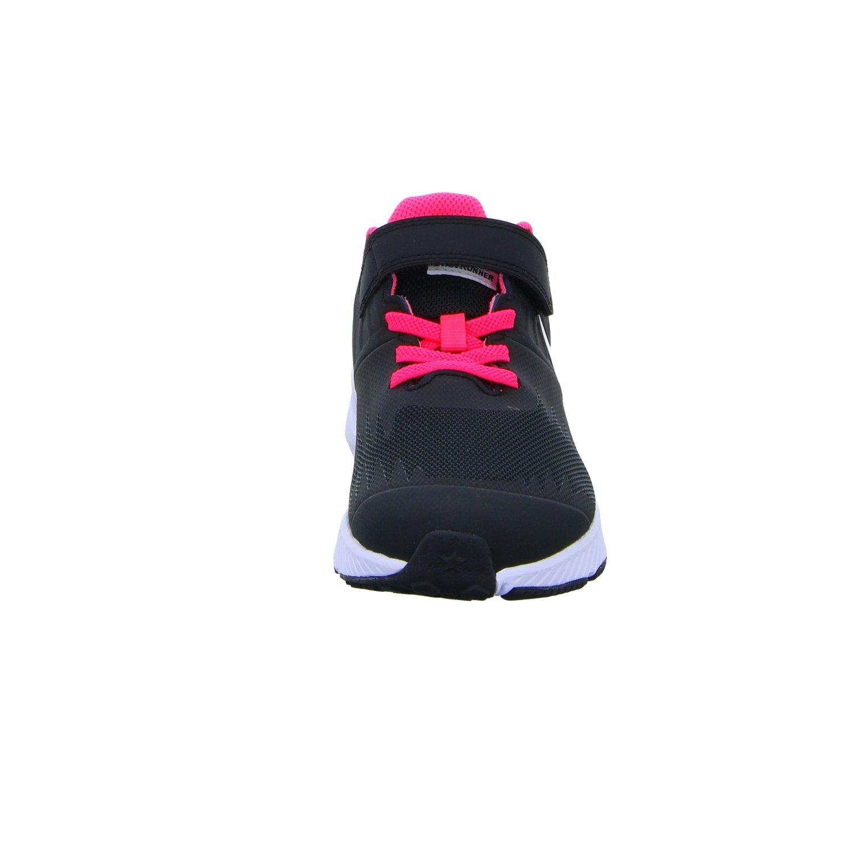 Nike Star Runner (PSV), Zapatillas de Trail Running para Niñas, Negro (Black/White/Volt/Racer Pink 001), 32 EU: Amazon.es: Zapatos y complementos