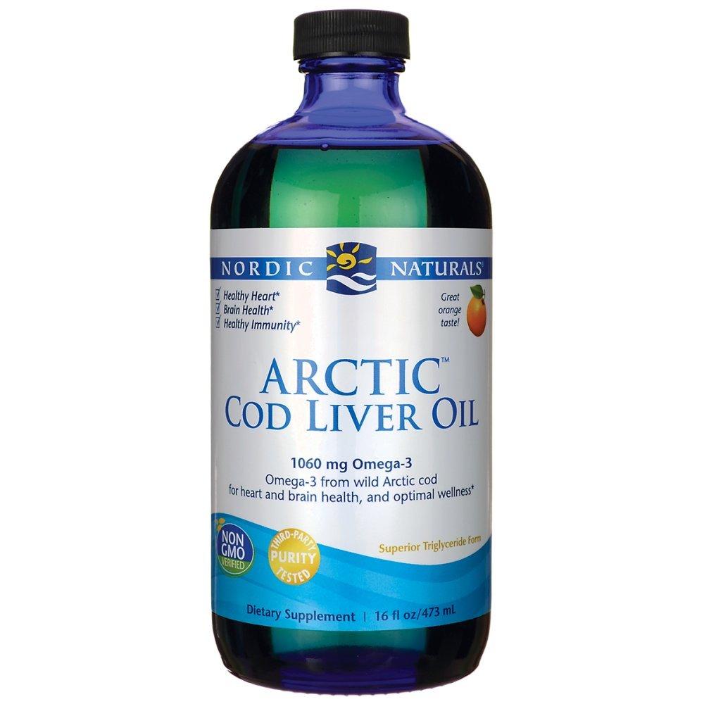Amazon.com  Nordic Naturals Arctic CLO - Cod Liver Oil Promotes Heart and  Brain Health 13e426e984afd