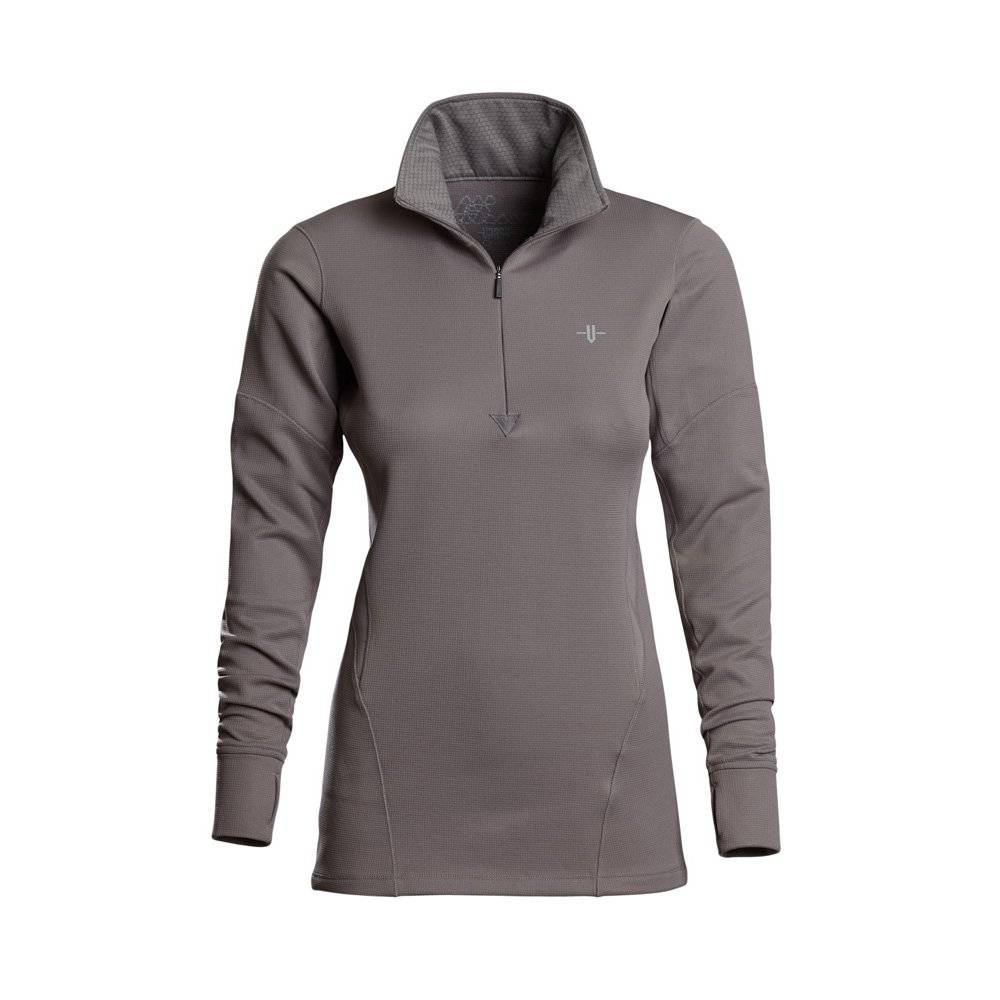 Vargo Damen Barren 1 4 Zip Shirt