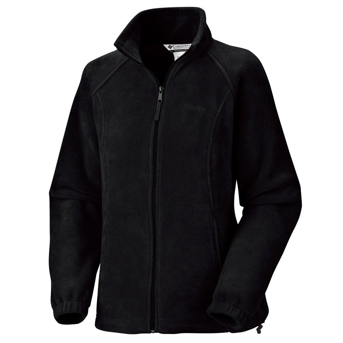 Columbia Women's Benton Springs Classic Fit Full Zip Soft Fleece Jacket, black, XL by Columbia