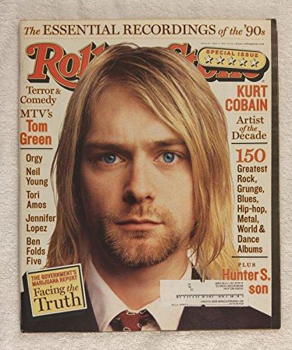 Kurt Cobain (Nirvana) - Artist of The Decade - Rolling Stone Magazine - #812 - May 13, 1999 - The Essential...