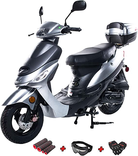 X-PRO 50cc Moped Scooter Gas Moped 50cc Scooter Street Bike