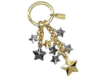 2639eb6aeab2 (コーチ) COACH キーホルダー キーリング 星 ゴールド ガンメタ シルバー メタル f63987immti アウトレット ブランド [並行