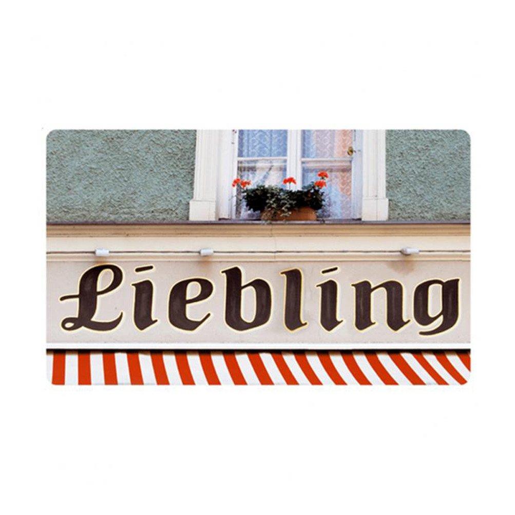 Berliner T/öchter Fr/ühst/ücksbrettchen Brettchen Liebling HPL bunt