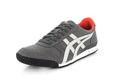 online retailer 8507e f6187 Onitsuka Tiger Mens Ultimate 81 Dark Grey Glacier Grey Sneaker - 6.5