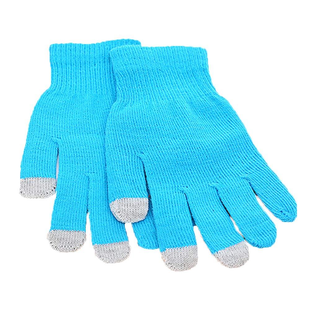 Rosepoem Gestrickte Touchscreen-Handschuhe - Gestrickte Touchscreen-Handschuhe, warme Handschuhe, Unisex