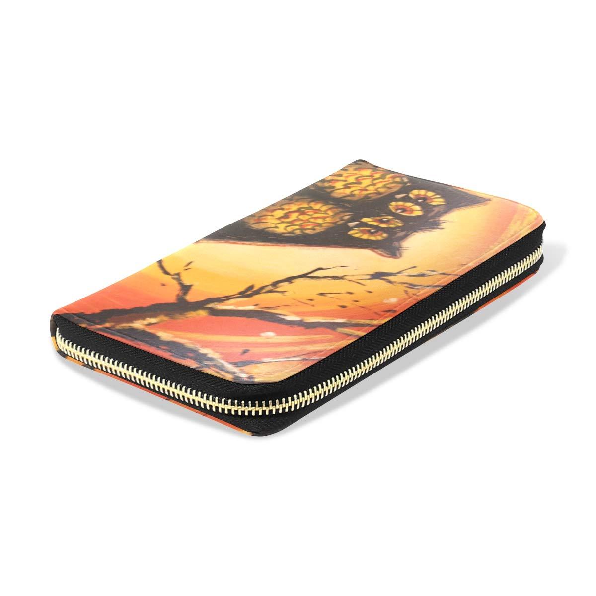 Womens Wallets Beautiful Cactus Custom Leather Passport Wallet Coin Purse Girls Handbags